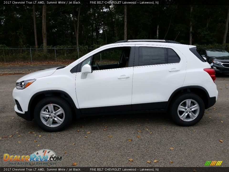 2017 Chevrolet Trax LT AWD Summit White / Jet Black Photo #3