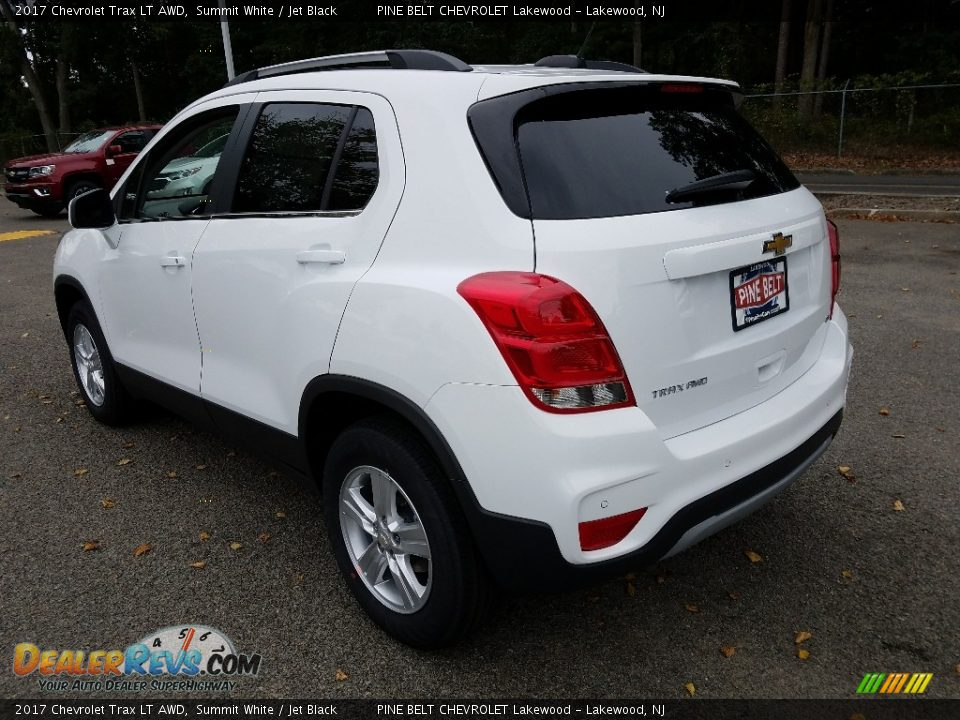 2017 Chevrolet Trax LT AWD Summit White / Jet Black Photo #4