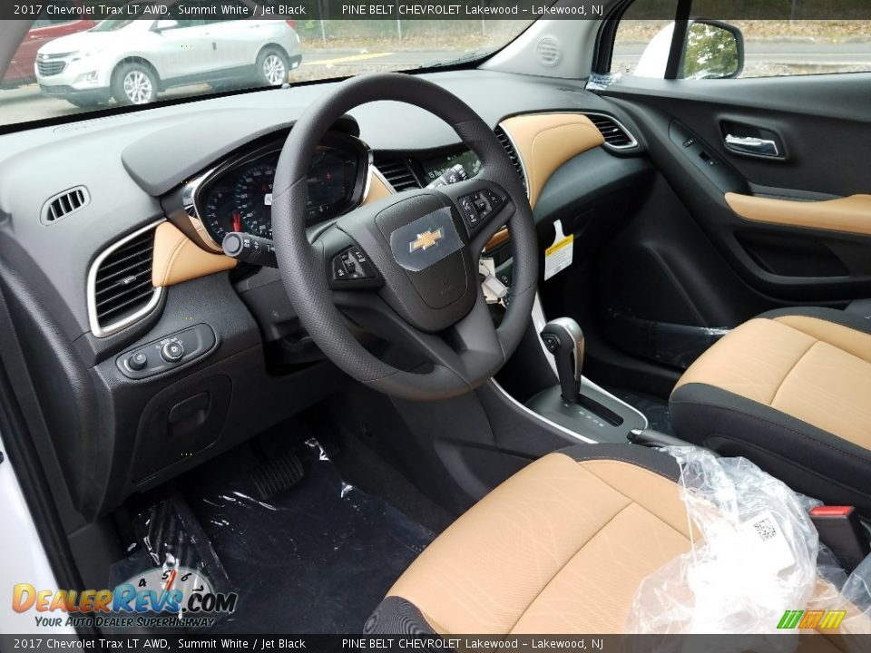 2017 Chevrolet Trax LT AWD Summit White / Jet Black Photo #7