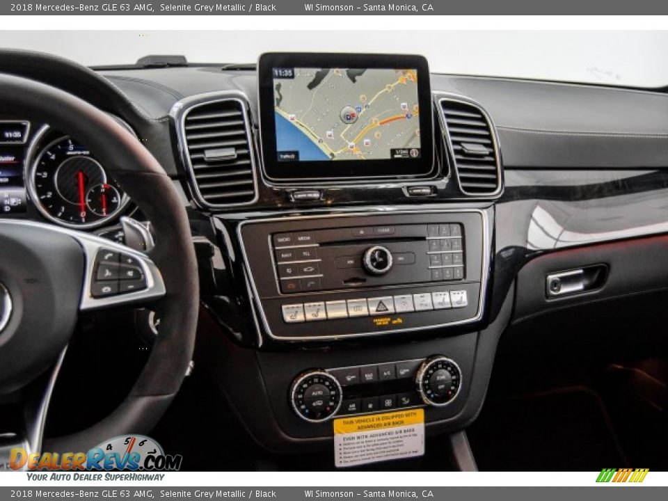 Navigation of 2018 Mercedes-Benz GLE 63 AMG Photo #5