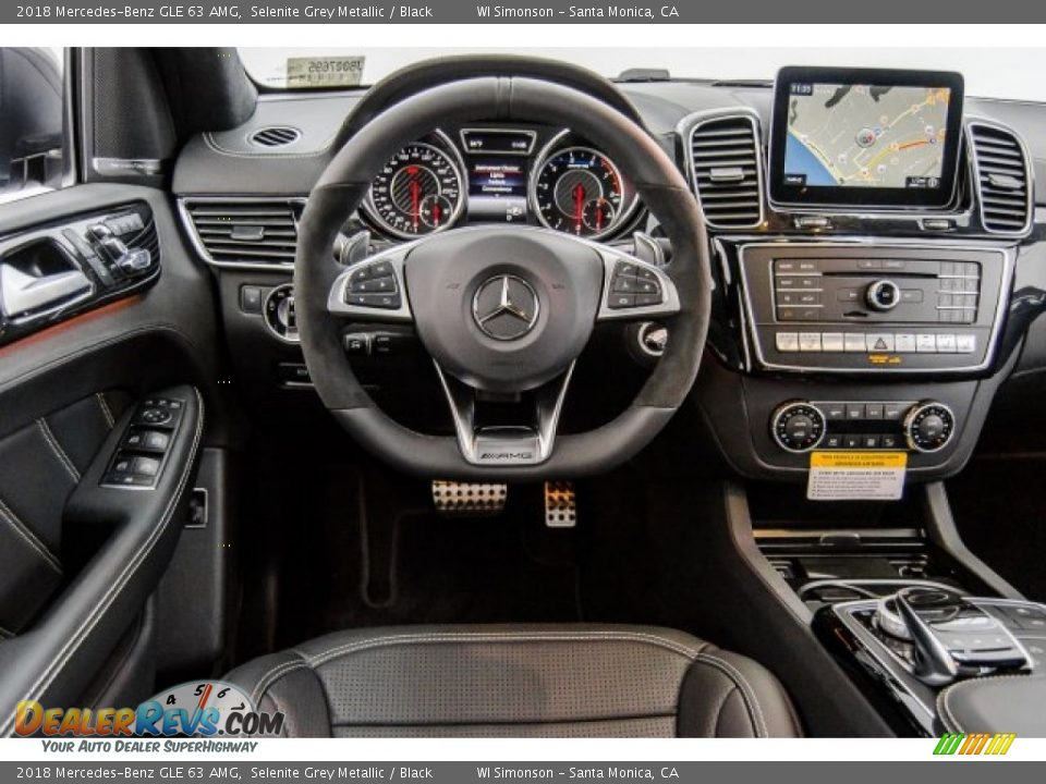 Dashboard of 2018 Mercedes-Benz GLE 63 AMG Photo #6