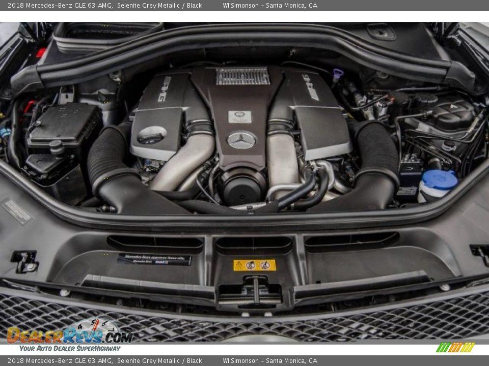 2018 Mercedes-Benz GLE 63 AMG 5.5 Liter AMG DI biturbo DOHC 32-Valve VVT V8 Engine Photo #9