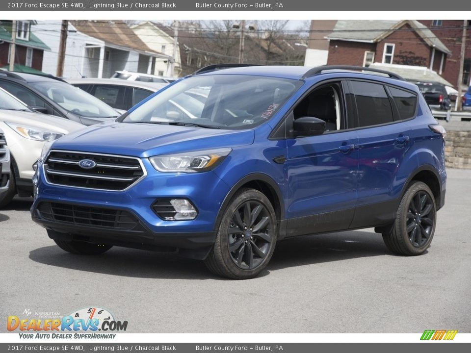 2017 Ford Escape SE 4WD Lightning Blue / Charcoal Black Photo #1
