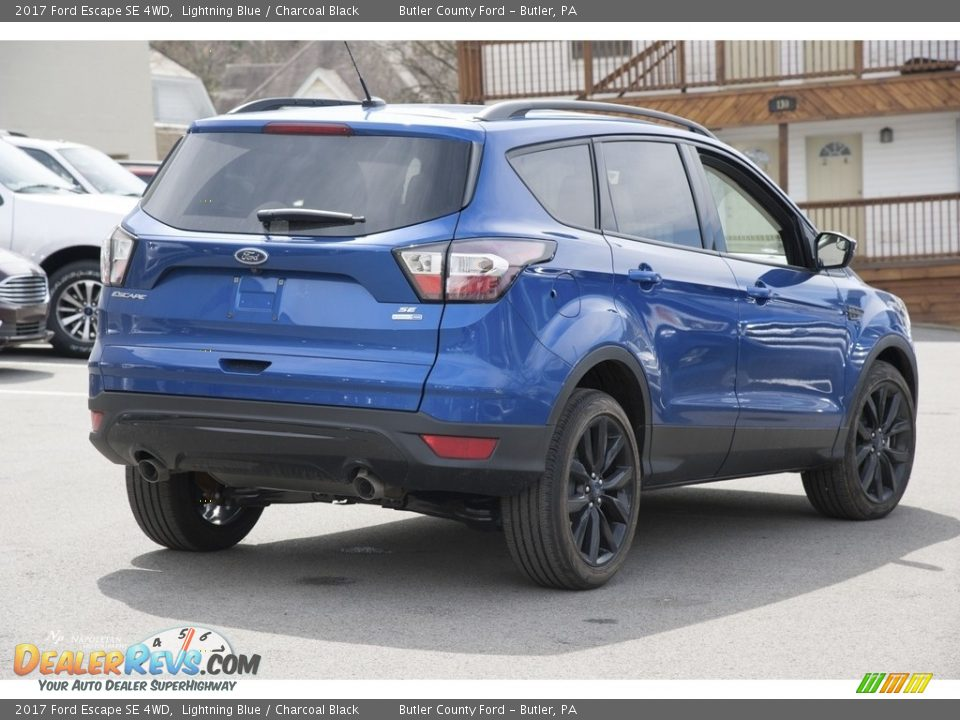 2017 Ford Escape SE 4WD Lightning Blue / Charcoal Black Photo #3