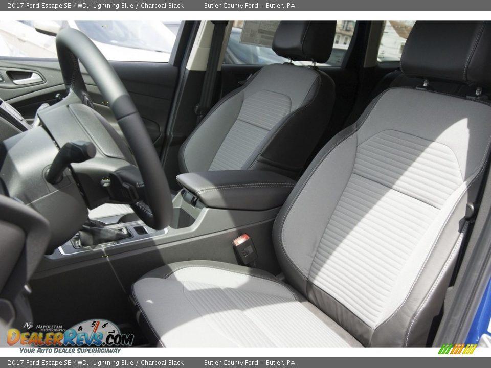 2017 Ford Escape SE 4WD Lightning Blue / Charcoal Black Photo #7
