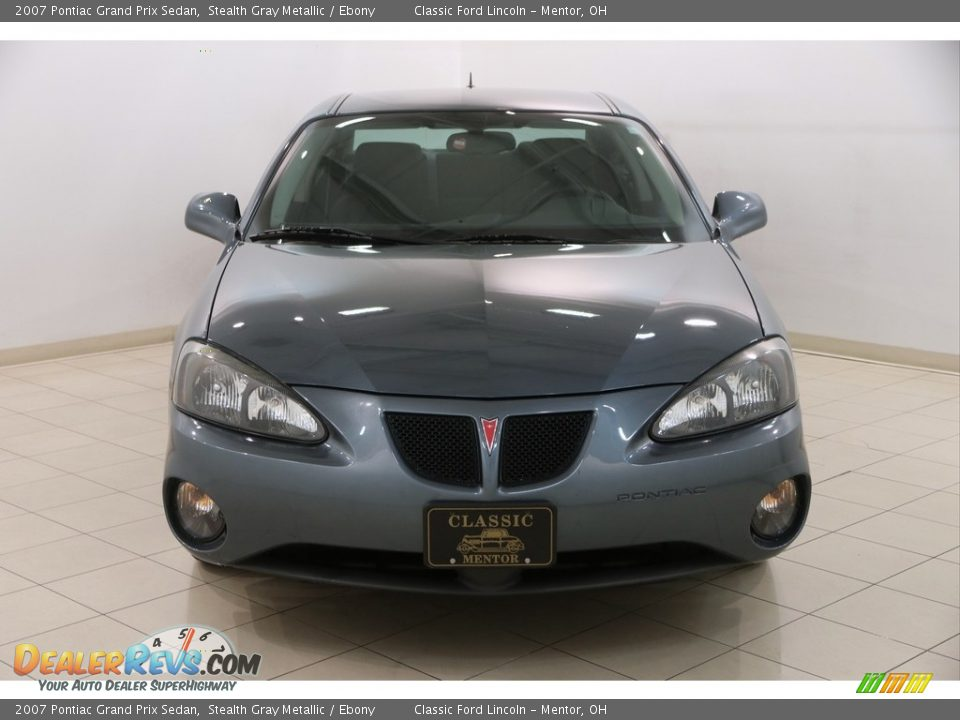 2007 Pontiac Grand Prix Sedan Stealth Gray Metallic / Ebony Photo #2
