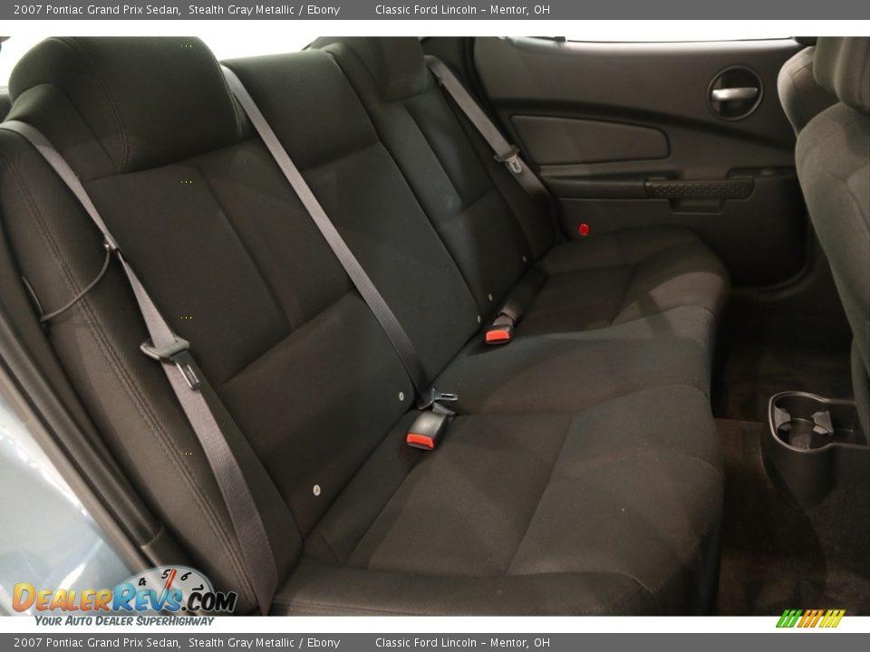 2007 Pontiac Grand Prix Sedan Stealth Gray Metallic / Ebony Photo #13