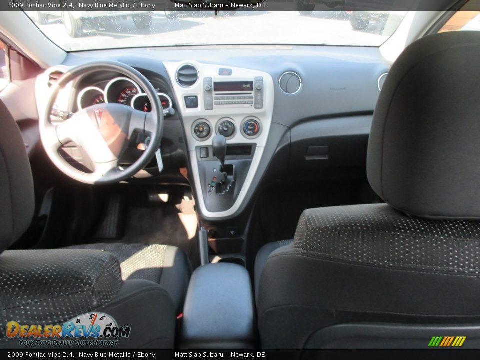 2009 Pontiac Vibe 2.4 Navy Blue Metallic / Ebony Photo #23