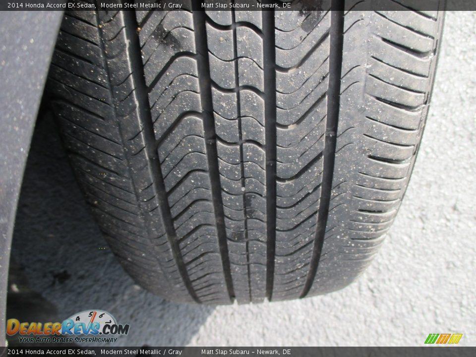 2014 Honda Accord EX Sedan Modern Steel Metallic / Gray Photo #23