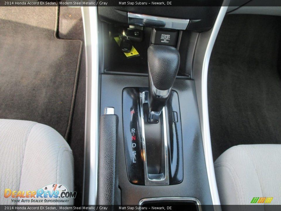 2014 Honda Accord EX Sedan Modern Steel Metallic / Gray Photo #26