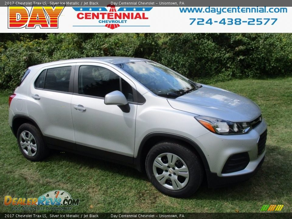 2017 Chevrolet Trax LS Silver Ice Metallic / Jet Black Photo #1