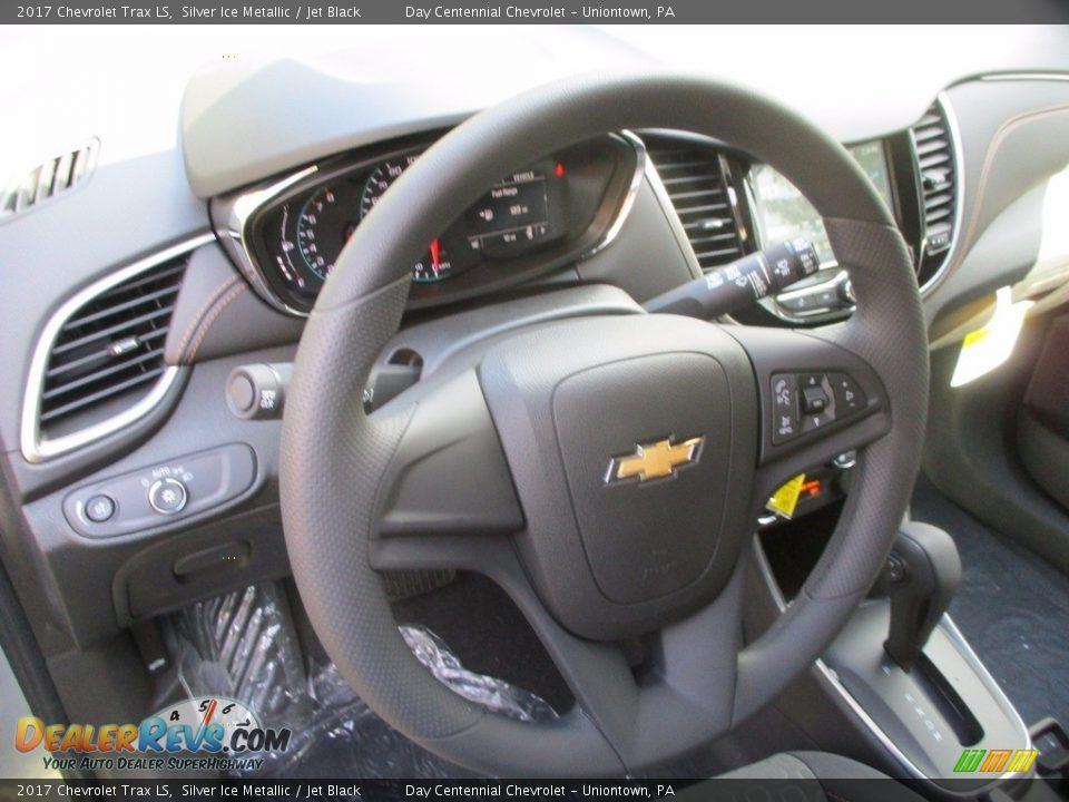 2017 Chevrolet Trax LS Silver Ice Metallic / Jet Black Photo #8