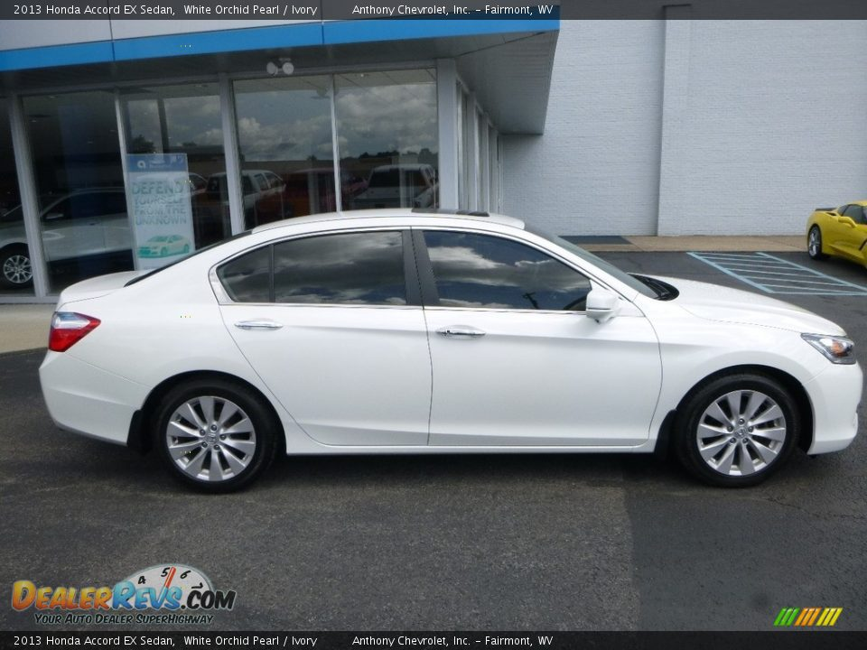 2013 Honda Accord EX Sedan White Orchid Pearl / Ivory Photo #3