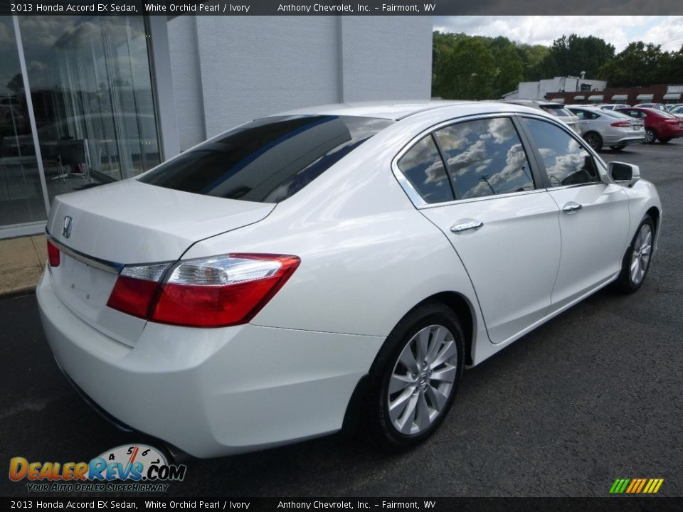 2013 Honda Accord EX Sedan White Orchid Pearl / Ivory Photo #4