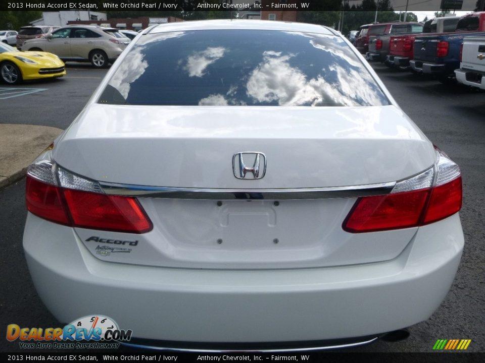 2013 Honda Accord EX Sedan White Orchid Pearl / Ivory Photo #5