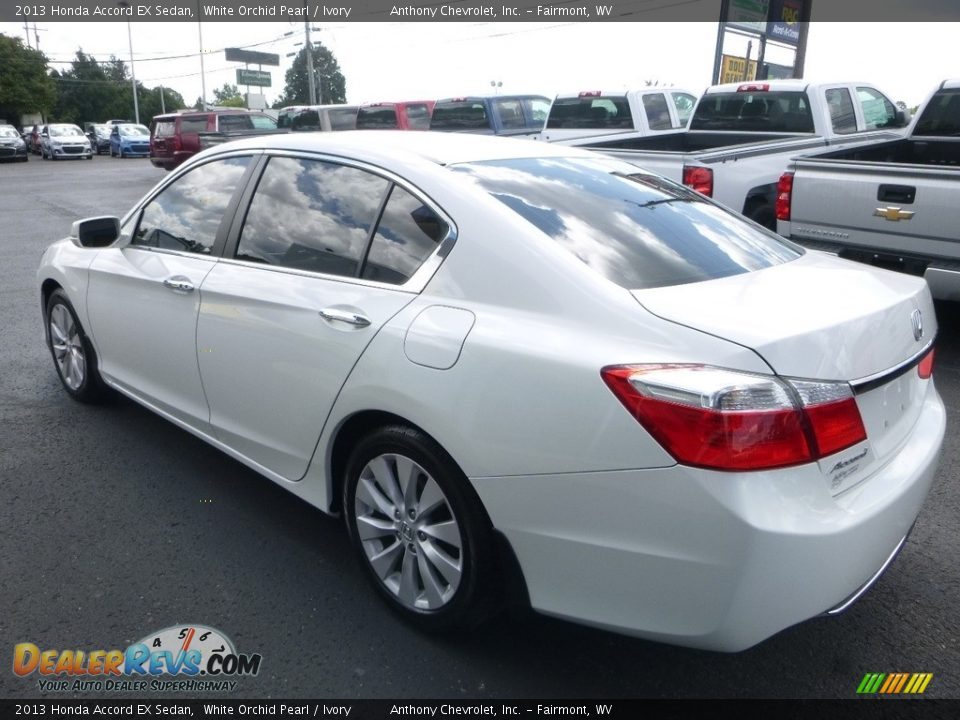 2013 Honda Accord EX Sedan White Orchid Pearl / Ivory Photo #6