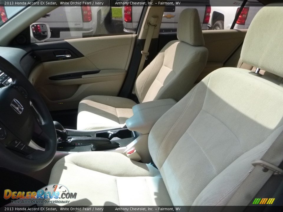 2013 Honda Accord EX Sedan White Orchid Pearl / Ivory Photo #13