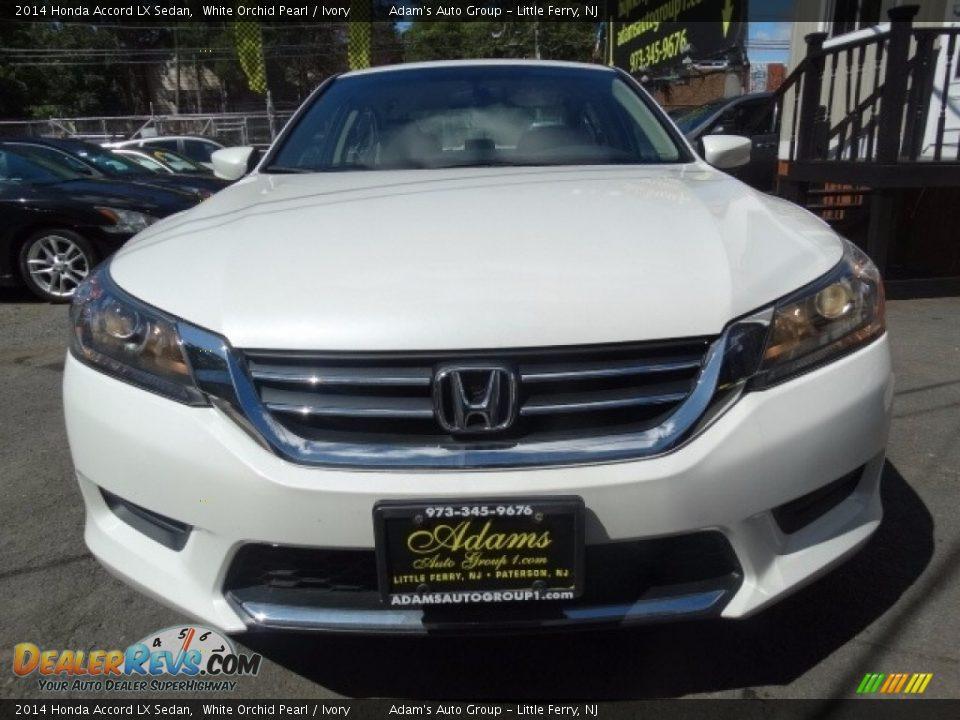 2014 Honda Accord LX Sedan White Orchid Pearl / Ivory Photo #2