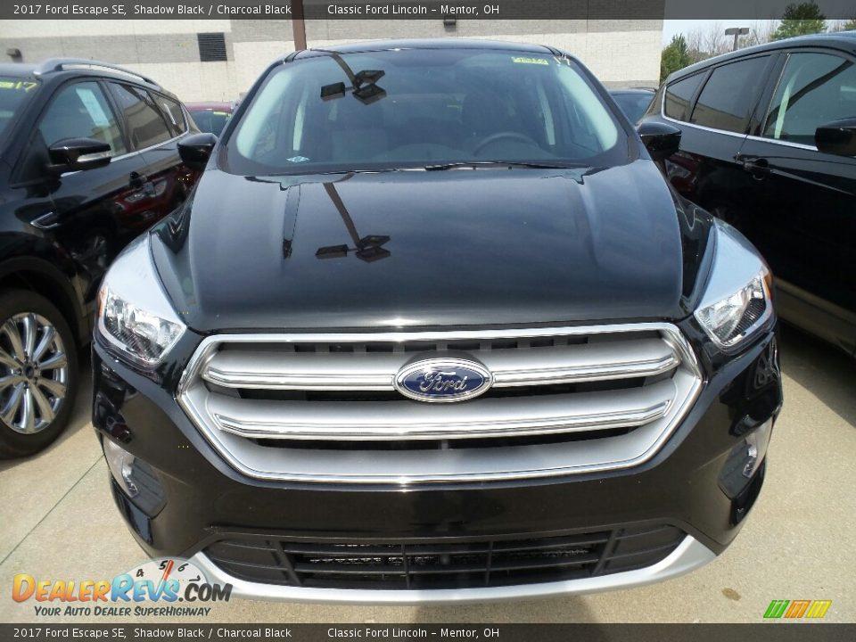 2017 Ford Escape SE Shadow Black / Charcoal Black Photo #2
