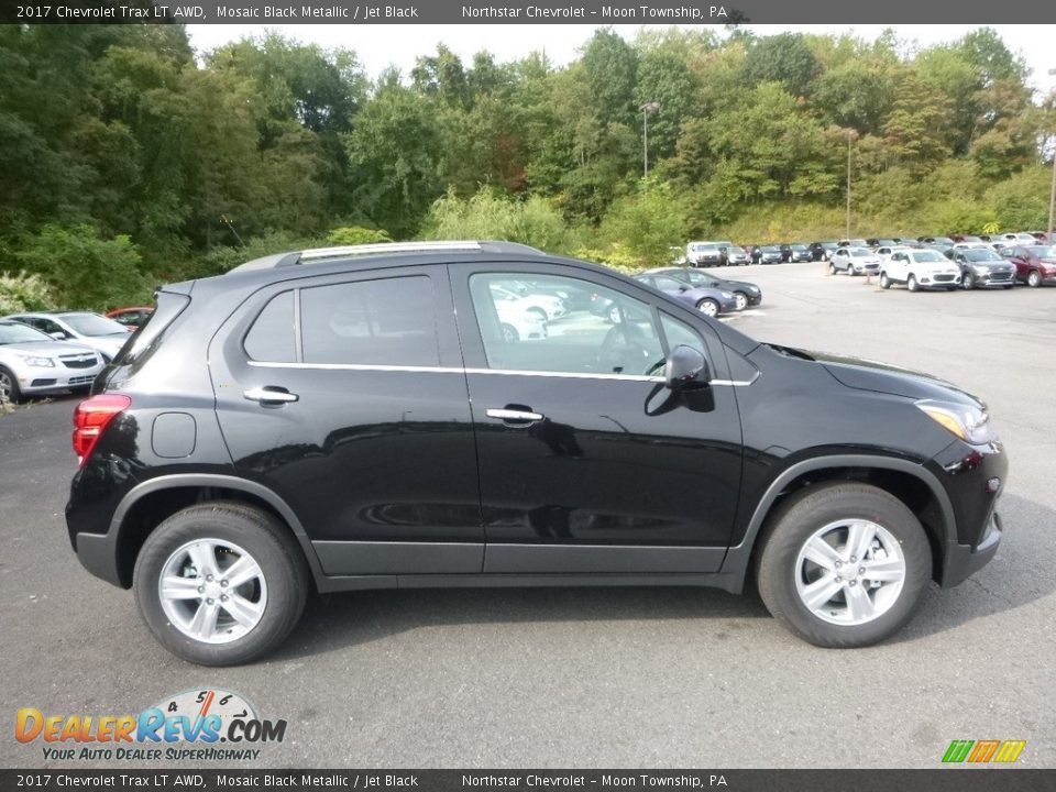 2017 Chevrolet Trax LT AWD Mosaic Black Metallic / Jet Black Photo #6