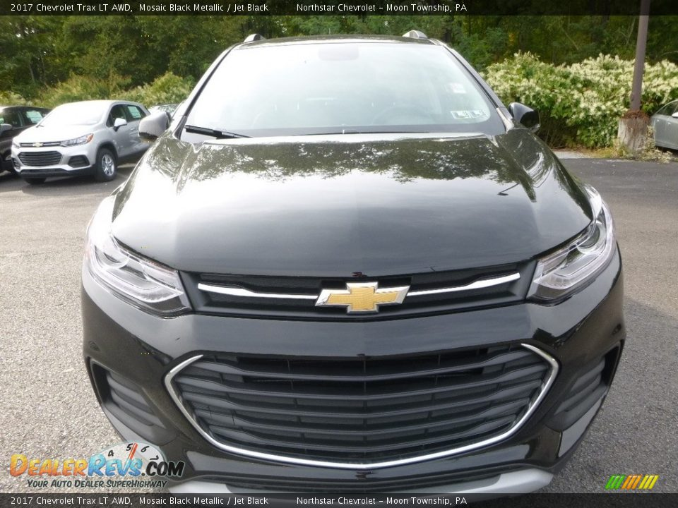2017 Chevrolet Trax LT AWD Mosaic Black Metallic / Jet Black Photo #8