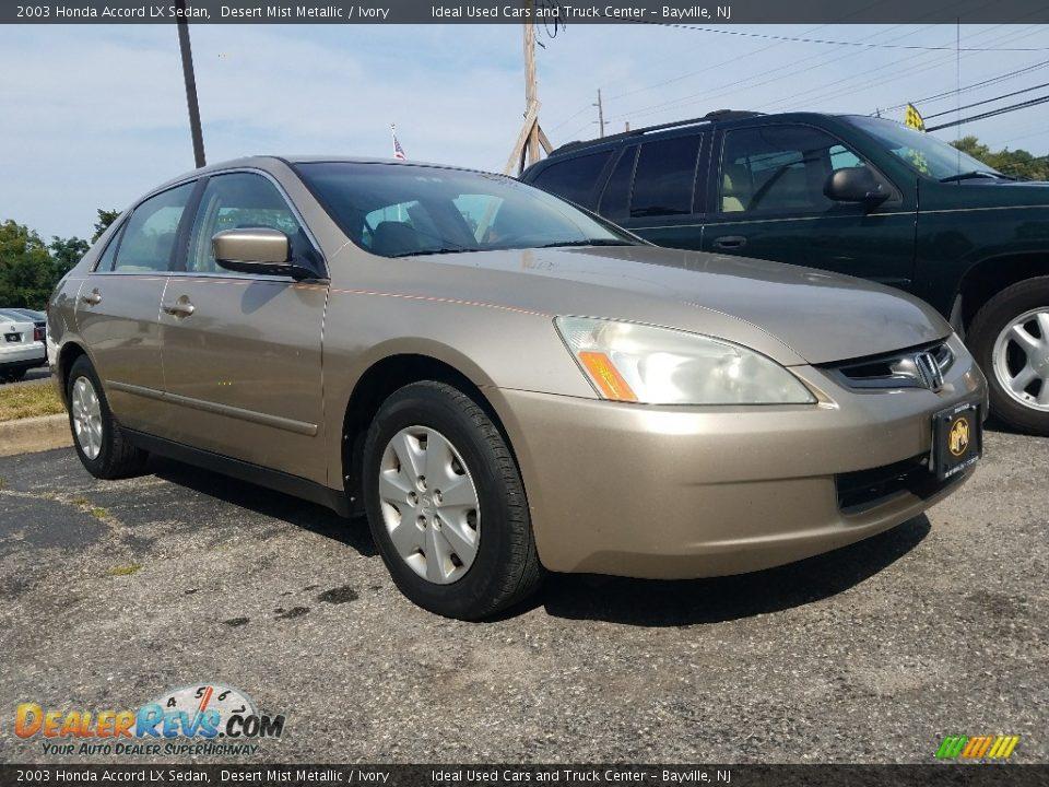 2003 Honda Accord LX Sedan Desert Mist Metallic / Ivory Photo #1