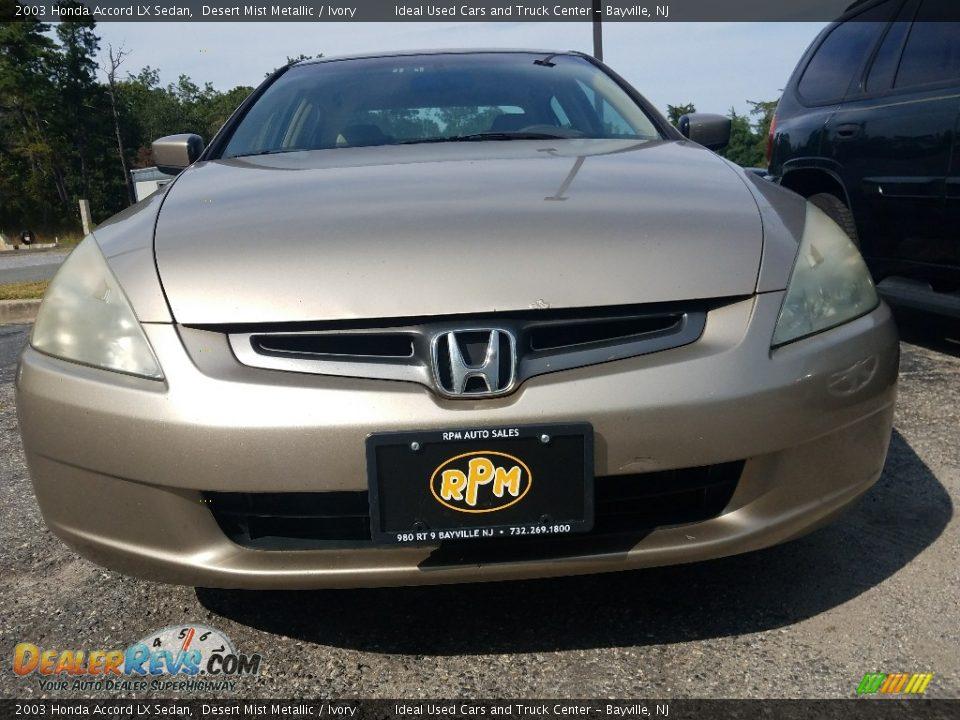 2003 Honda Accord LX Sedan Desert Mist Metallic / Ivory Photo #4