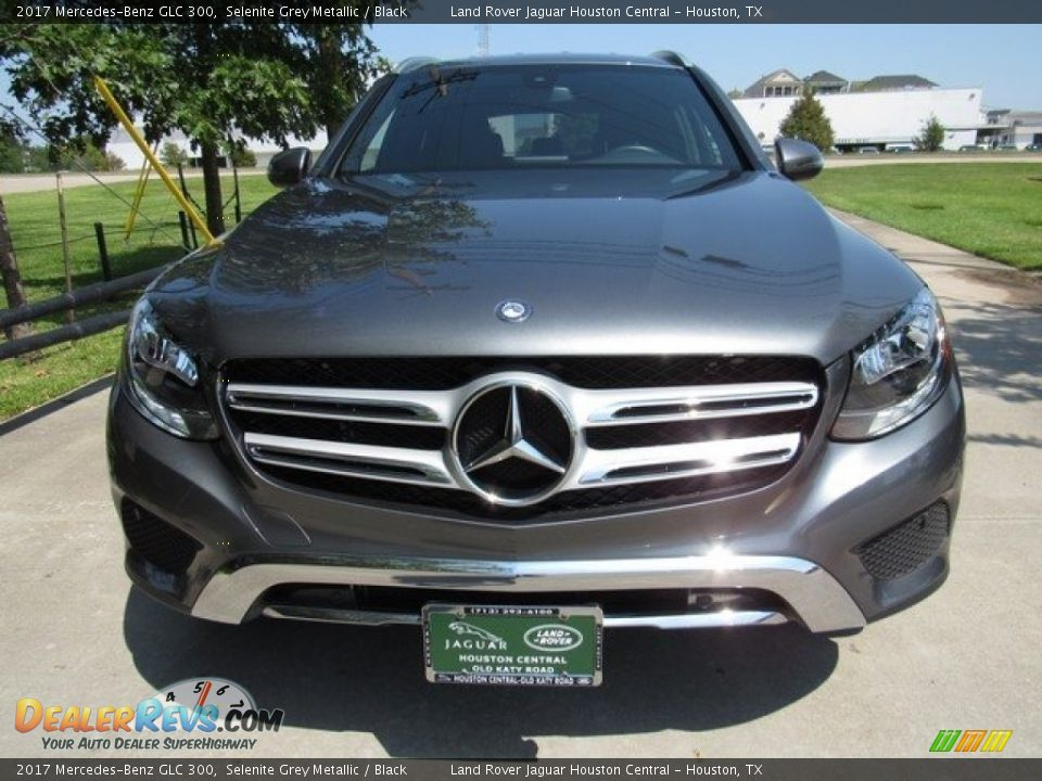 2017 Mercedes-Benz GLC 300 Selenite Grey Metallic / Black Photo #9
