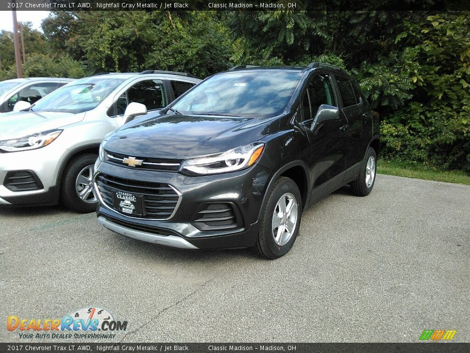 2017 Chevrolet Trax LT AWD Nightfall Gray Metallic / Jet Black Photo #1