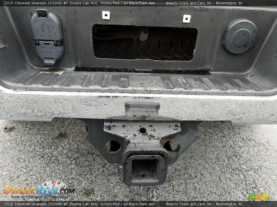 2015 Chevrolet Silverado 2500HD WT Double Cab 4x4 Victory Red / Jet Black/Dark Ash Photo #6