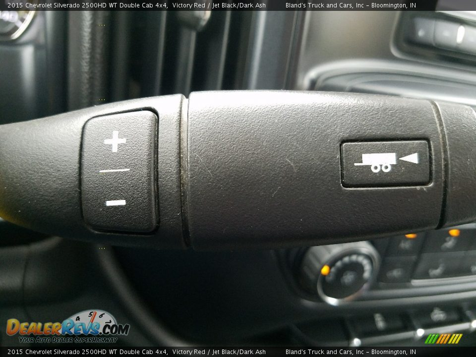 2015 Chevrolet Silverado 2500HD WT Double Cab 4x4 Victory Red / Jet Black/Dark Ash Photo #22
