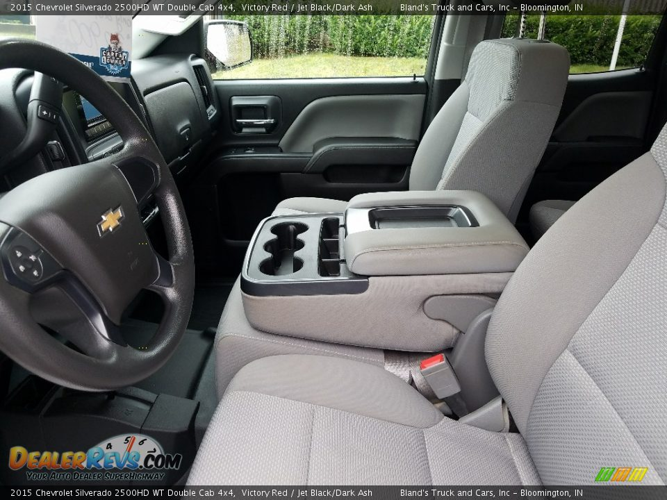 2015 Chevrolet Silverado 2500HD WT Double Cab 4x4 Victory Red / Jet Black/Dark Ash Photo #29