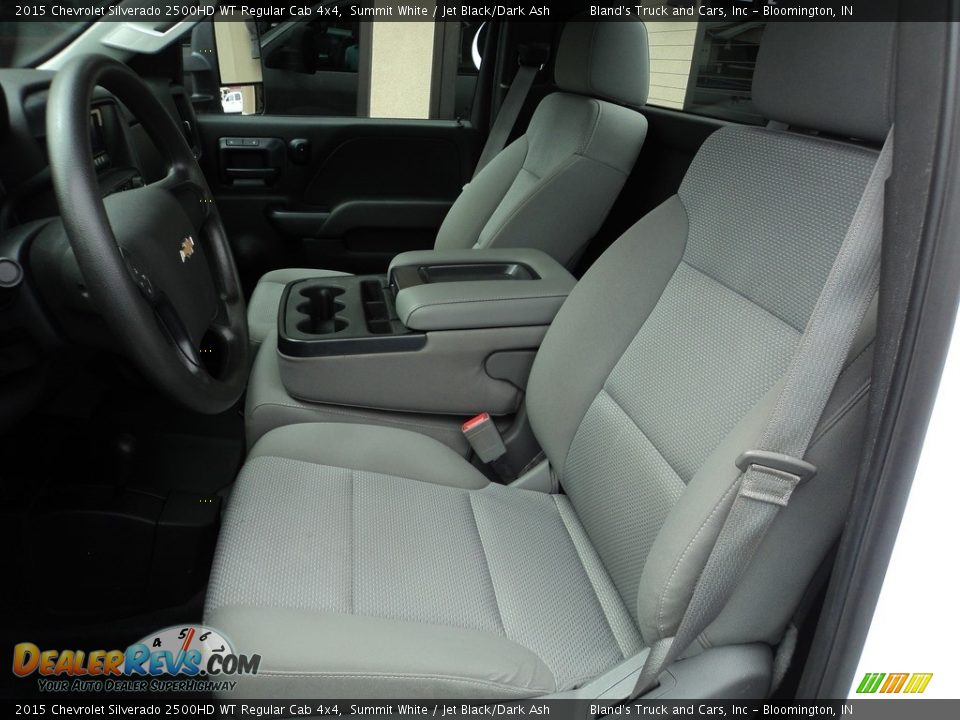 2015 Chevrolet Silverado 2500HD WT Regular Cab 4x4 Summit White / Jet Black/Dark Ash Photo #7