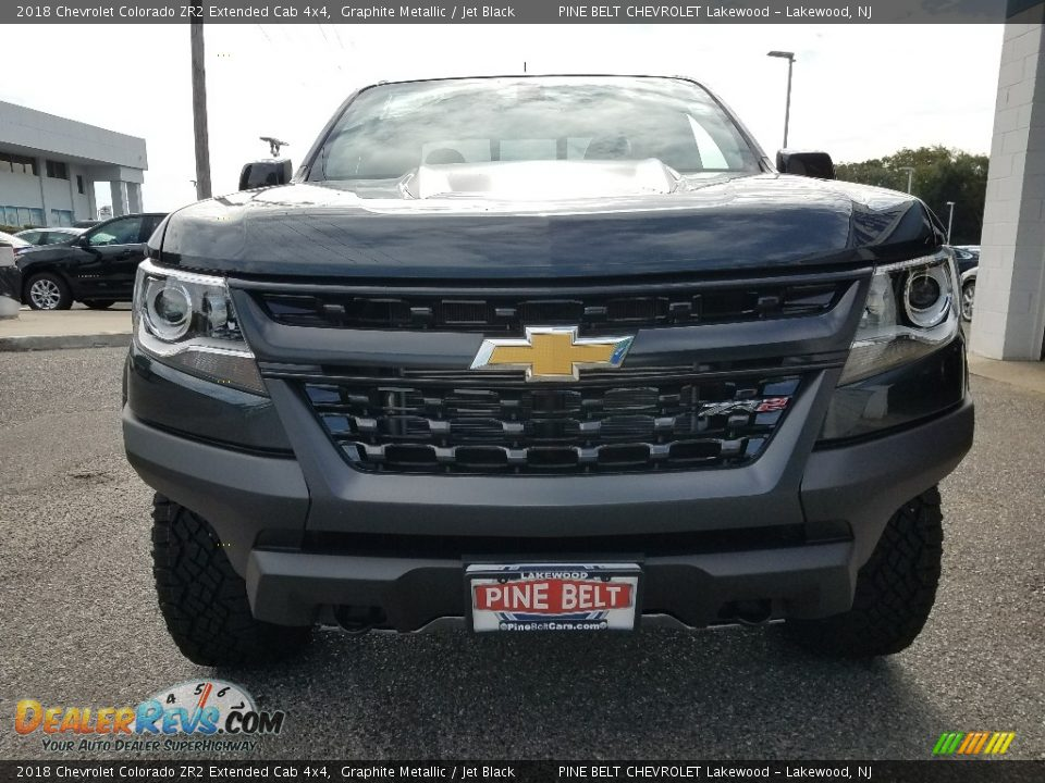 2018 Chevrolet Colorado ZR2 Extended Cab 4x4 Graphite Metallic / Jet Black Photo #2
