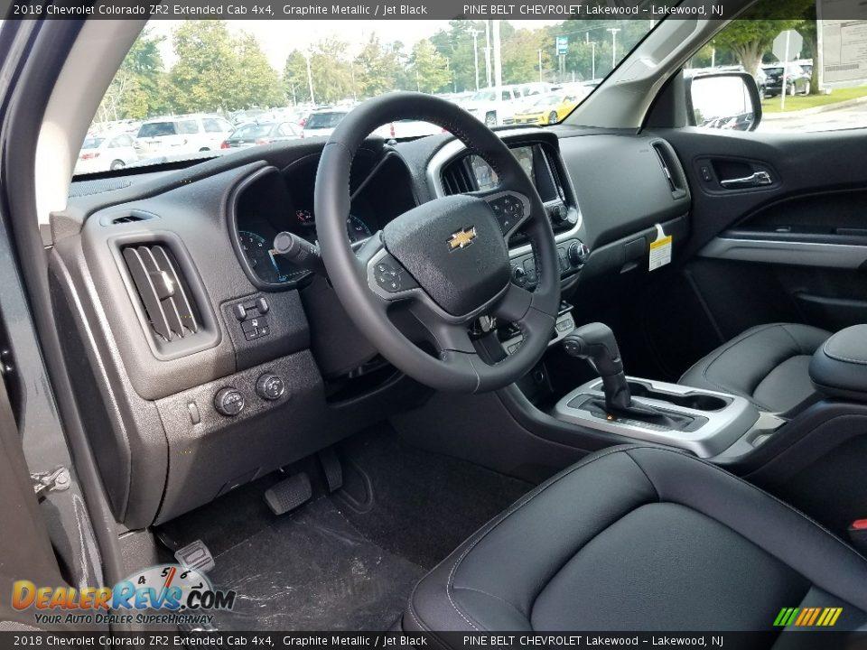 2018 Chevrolet Colorado ZR2 Extended Cab 4x4 Graphite Metallic / Jet Black Photo #6