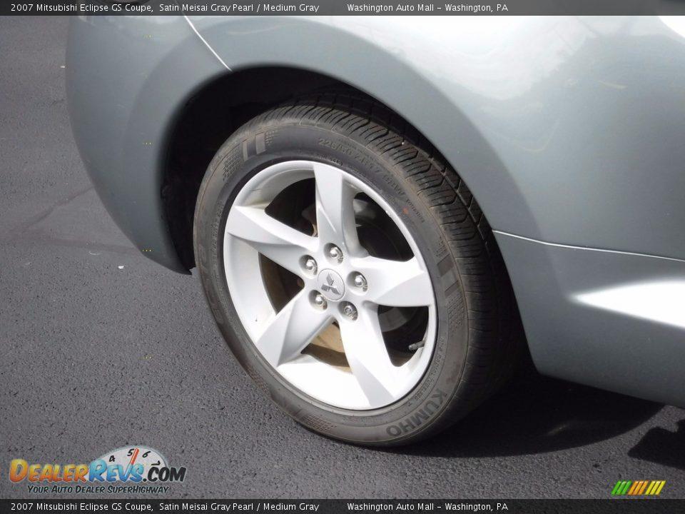 2007 Mitsubishi Eclipse GS Coupe Satin Meisai Gray Pearl / Medium Gray Photo #3