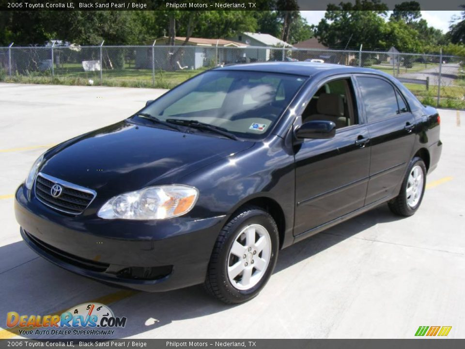 2006 Toyota Corolla Le Black Sand Pearl Beige Photo 7