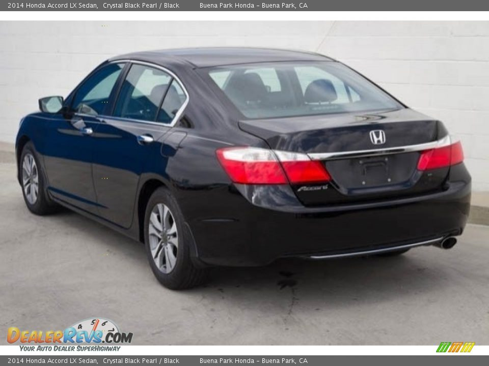 2014 Honda Accord LX Sedan Crystal Black Pearl / Black Photo #2