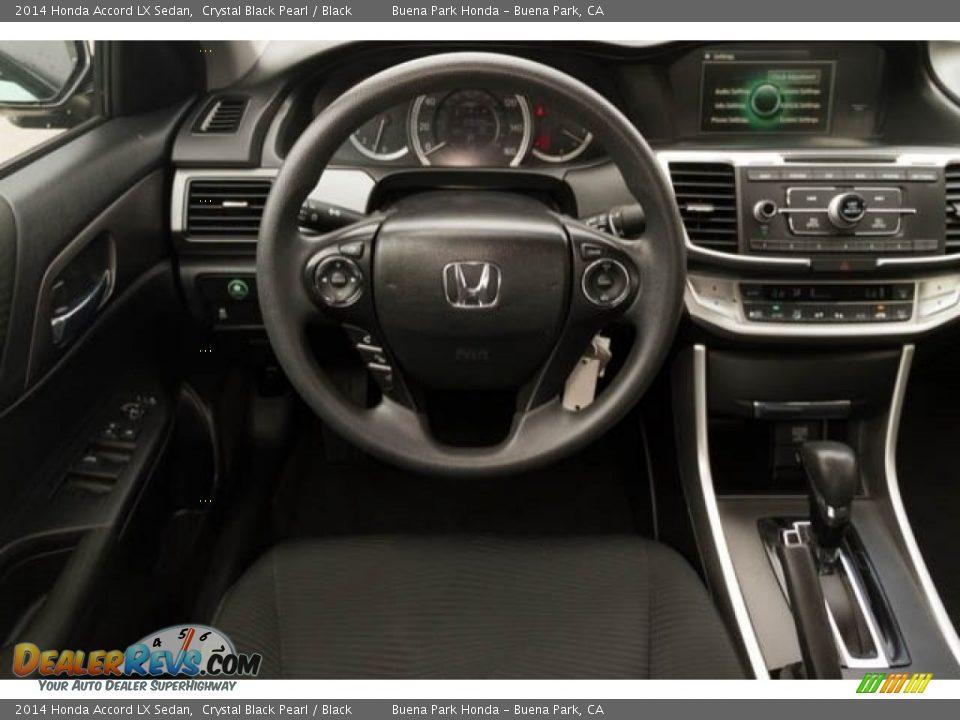 2014 Honda Accord LX Sedan Crystal Black Pearl / Black Photo #5
