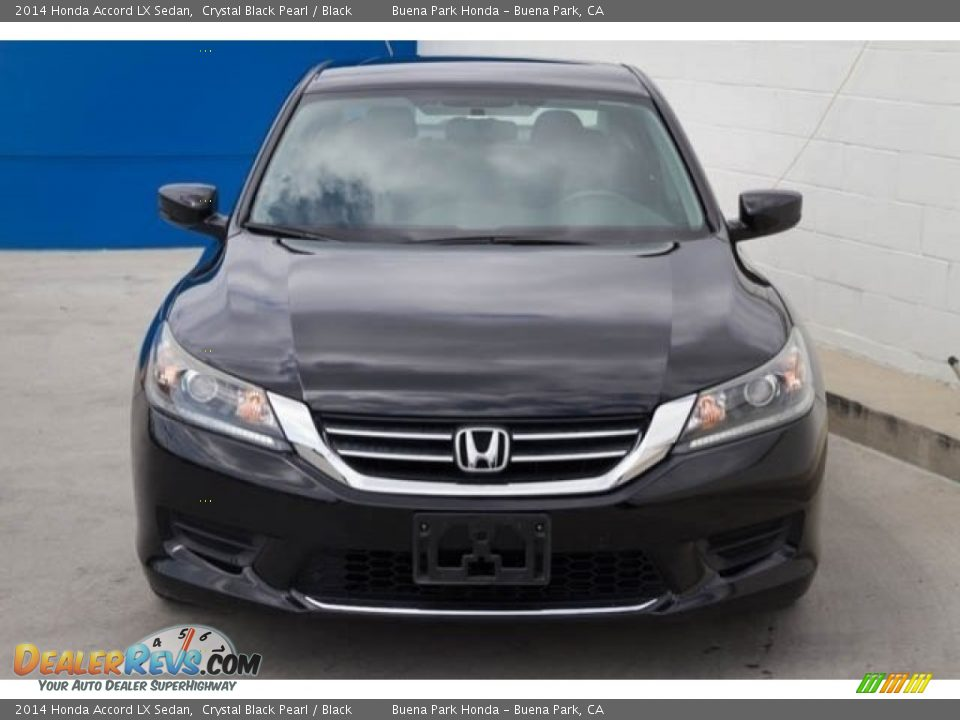 2014 Honda Accord LX Sedan Crystal Black Pearl / Black Photo #7