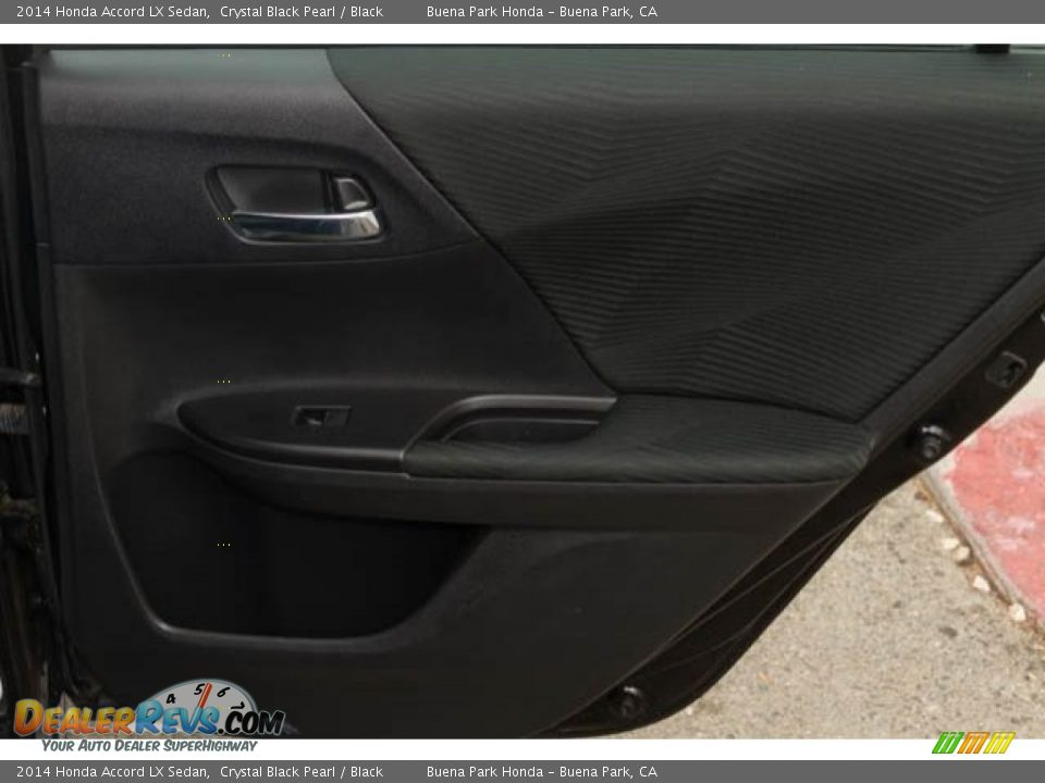 2014 Honda Accord LX Sedan Crystal Black Pearl / Black Photo #23