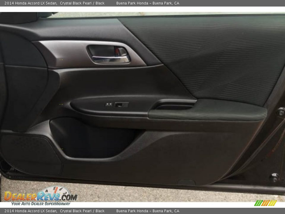 2014 Honda Accord LX Sedan Crystal Black Pearl / Black Photo #24