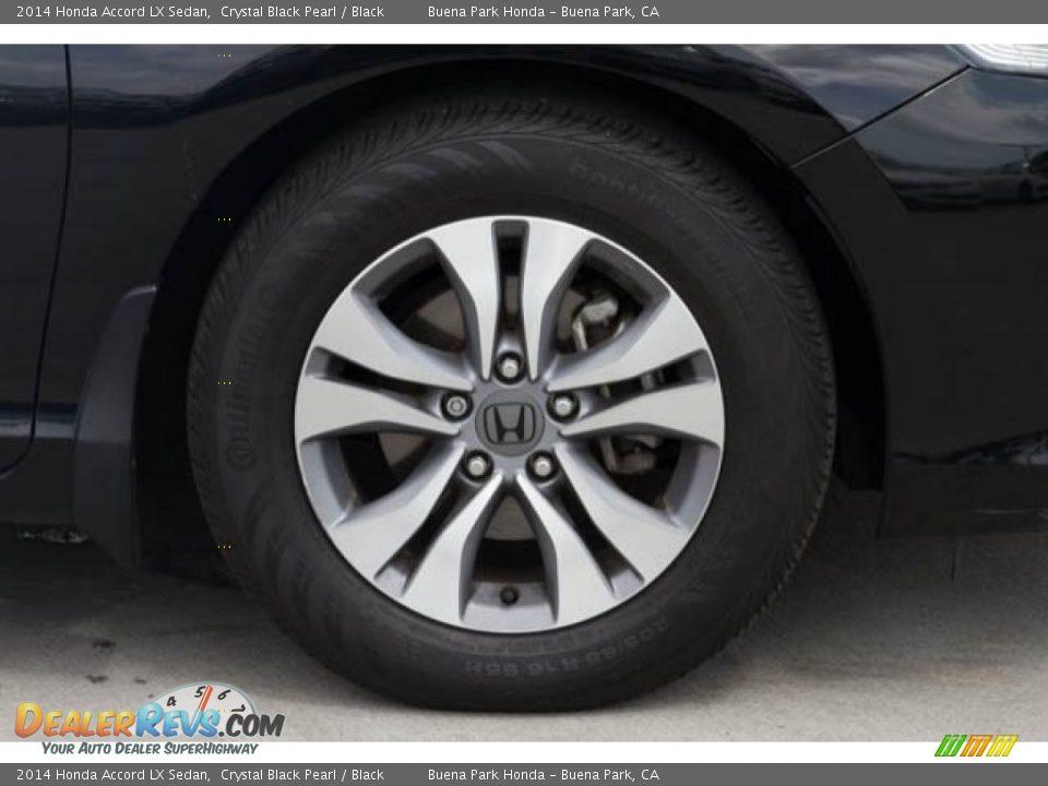2014 Honda Accord LX Sedan Crystal Black Pearl / Black Photo #27