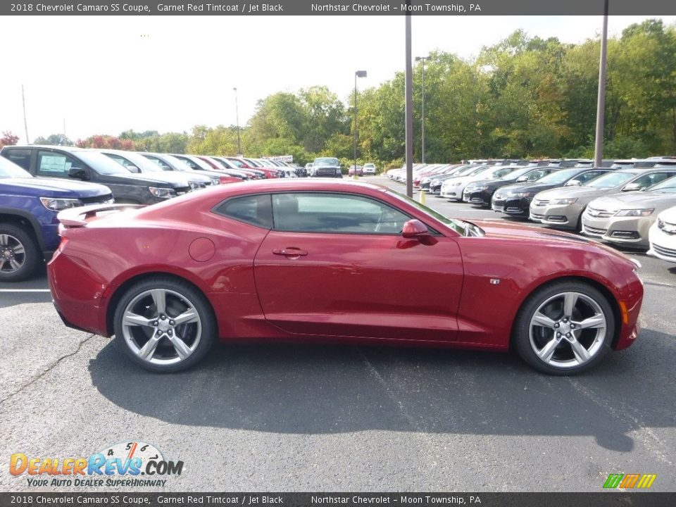 2018 Chevrolet Camaro SS Coupe Garnet Red Tintcoat / Jet Black Photo #6