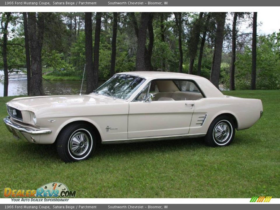 Ford Dealer Locator >> 1966 Ford Mustang Coupe Sahara Beige / Parchment Photo #2 | DealerRevs.com