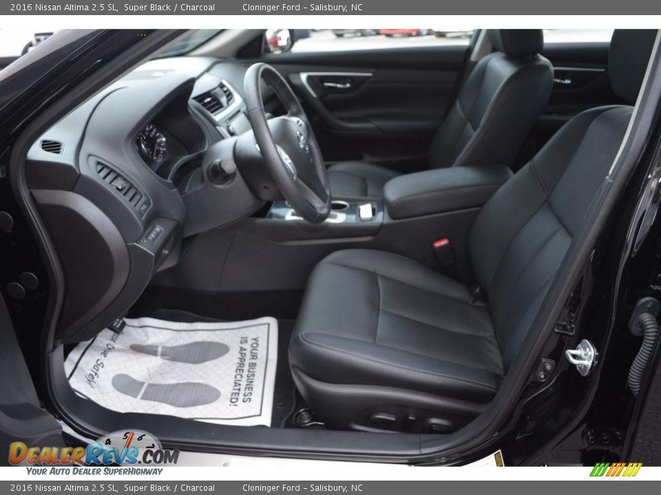 2016 Nissan Altima 2.5 SL Super Black / Charcoal Photo #9