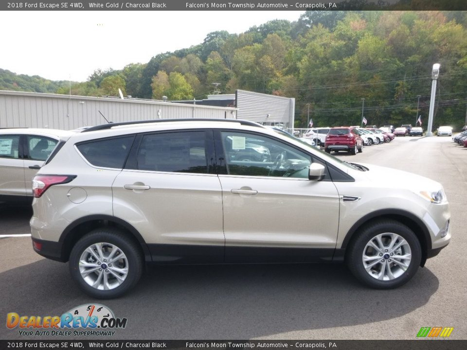 2018 Ford Escape SE 4WD White Gold / Charcoal Black Photo #1