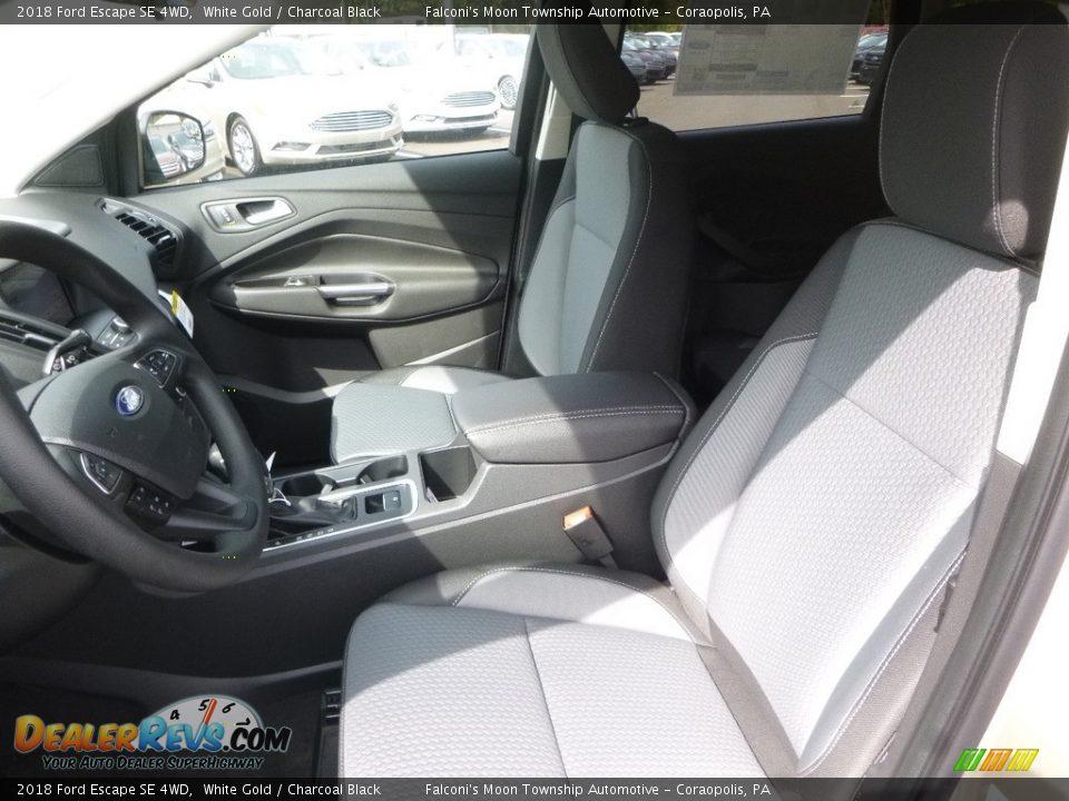 2018 Ford Escape SE 4WD White Gold / Charcoal Black Photo #11