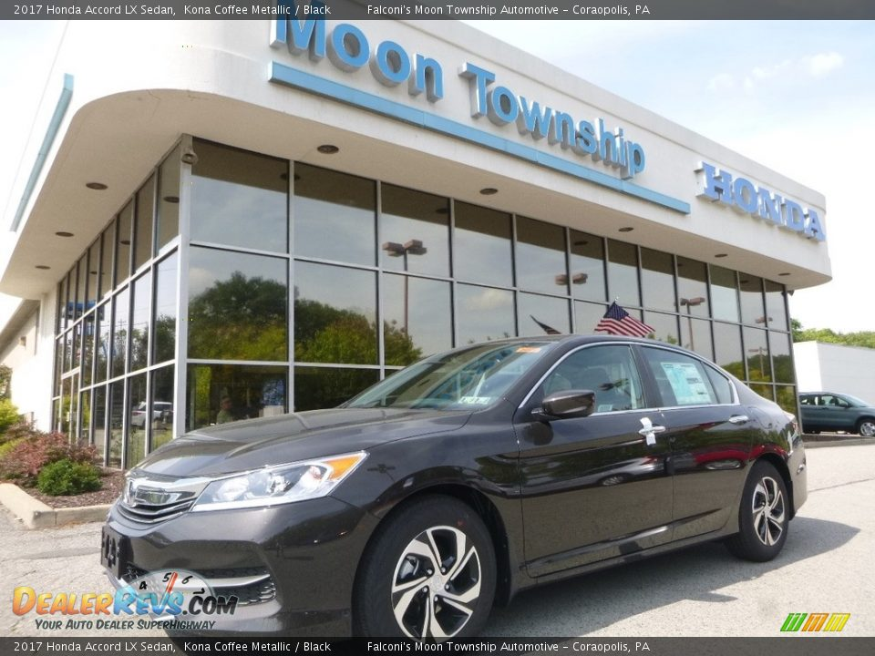 2017 Honda Accord LX Sedan Kona Coffee Metallic / Black Photo #1