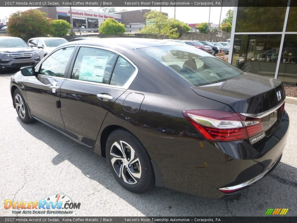 2017 Honda Accord LX Sedan Kona Coffee Metallic / Black Photo #2